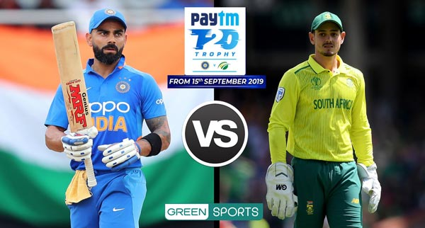India vs South Africa T20, Test Series 2019 Fixtures, Date ...